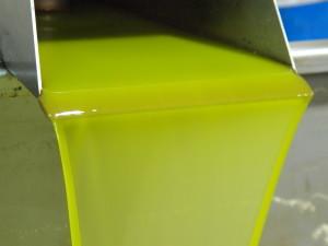 Olivenöl frisch aus der Ölpresse