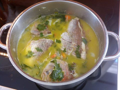 Kretische Fischsuppe
